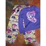 Conjunto De Pijama Marca Carters Talla 4 Tela Seda