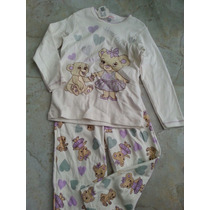 Pijama Niña Algodon Peruano