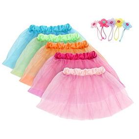 seleccione para el más nuevo estilo novedoso chic clásico Niñas Princesa Tutu Faldas Set Fedio 5 Pack Niños Baile Tutu