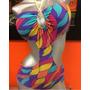 Bellos Trajes De Baños Para Dama Semi Hilo Y Panty Brasilera