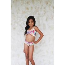 Bikini Palmarosa Niña Kd06