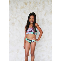 Bikini Palmarosa Niña Kd01