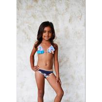 Bikini Palmarosa Niña Kd02