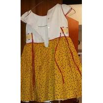 Vestido Niña Talla 5 Bellísimo Para Bautizo Fiestas