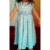 Hermoso Vestido De Niña. Talla 4.