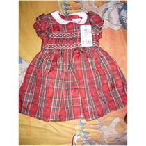 Vestido Epk Rojo Con Rayitas T3