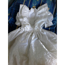 Remato Bello Vestido Blanco Para Niña Primera Comunion