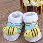 Un Par De Zapaticos Calcetines De Bebe Hasta 12 Meses
