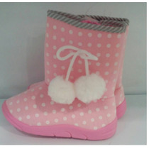 Botas Zapatos Para Niñas Semicuero Forradas 23 24 Y 25