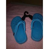 Chola Tipo Cross Talla 27 Azul Claro Niña