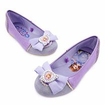 Zapatillas Del Traje De La Princesa Sofía 100% Disney