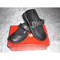 Zapatos Kickers Escolares Para Niñas Nuevos Talla 28 Y 30