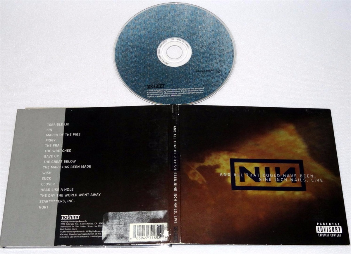 Nine Inch Nails-and All That Could Have Been Live Cd - $ 7.700 en ...