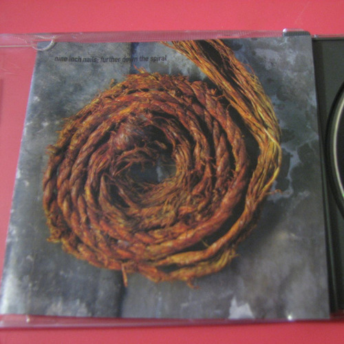 nine inch nails cd further down the spiral impecable