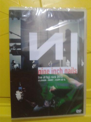 nine inch nails live at fuji rock - novo lacrado