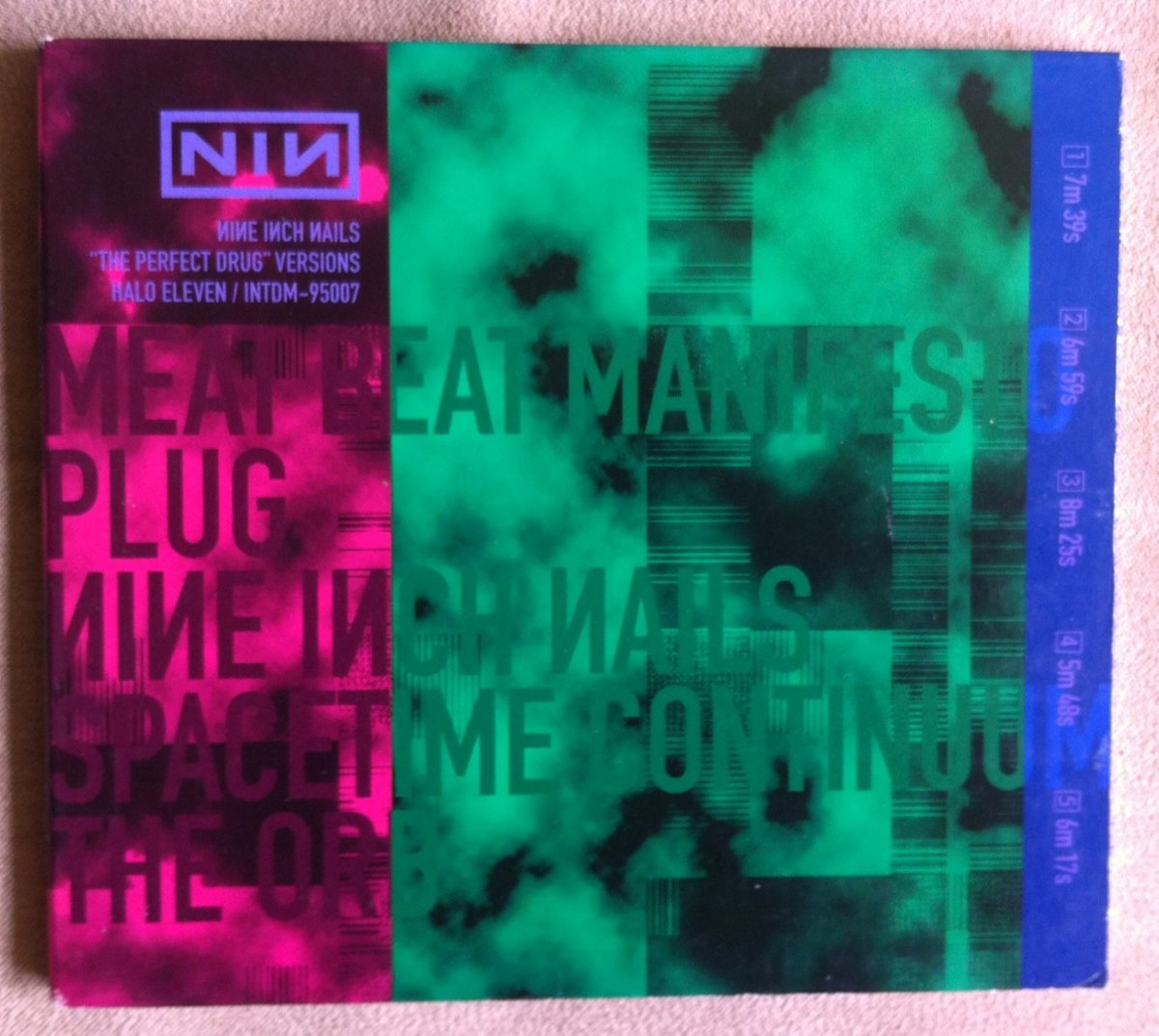 Nine Inch Nails The Perfect Drug Cd Single Digipack Usa - $ 100.00 ...