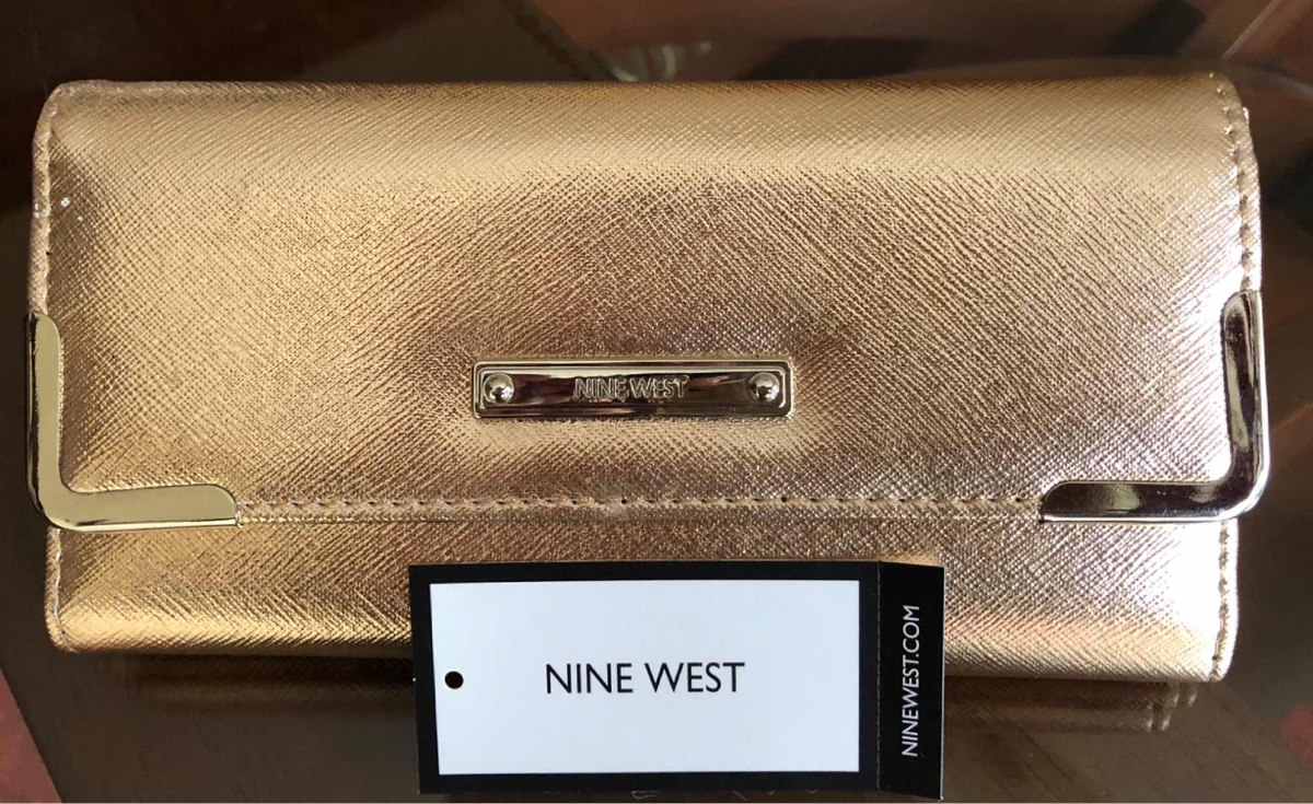 ac1587d05 Nine West Billetera Gold Rose Original Americana - S/ 120,00 en ...