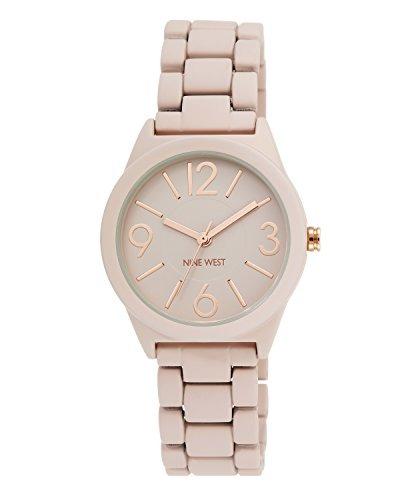 c88f4462285 Nine West - Reloj De Pulsera De Goma Para Mujer Nw / 1812 - $ 45.990 ...