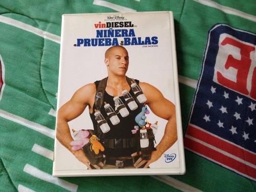 ñiñera a prueba de balas pelicula en dvd