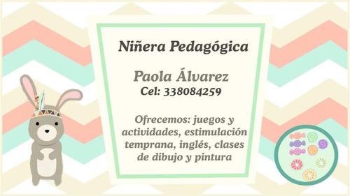 niñera pedagógica