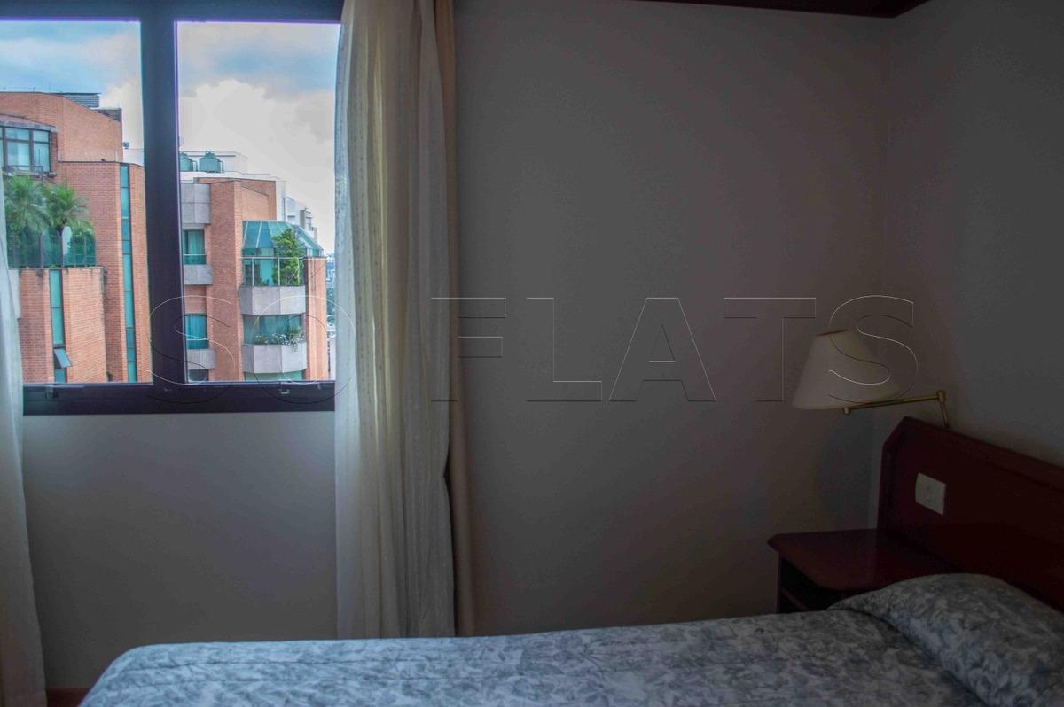 ninety flat 1 vaga mobiliado (11) 3059-0846