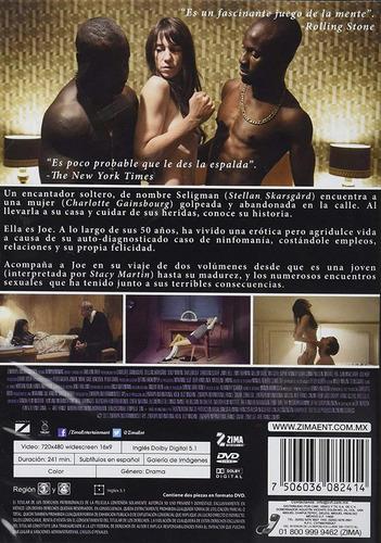ninfomania nymphomaniac volumen 1 uno y 2 dos pelicula dvd