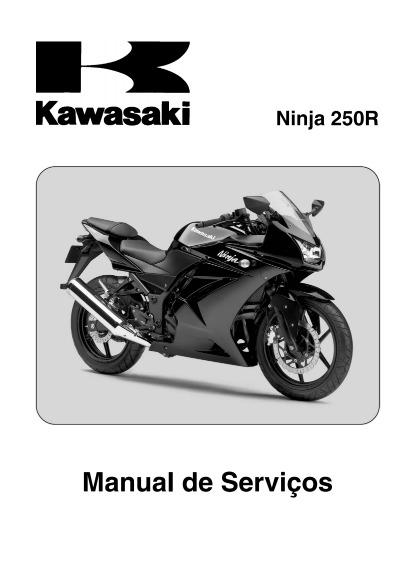 ninja 250r manual de servi os kawasaki em portugu s r 9 99 em rh produto mercadolivre com br kawasaki ninja 250r manual book kawasaki ninja 250r manual