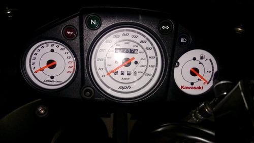 ninja 250r negra como nueva