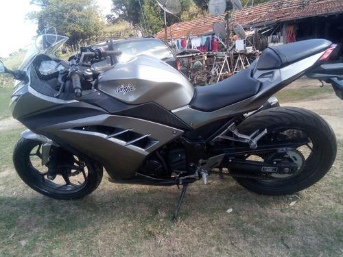 ninja 300 2014 gasolina