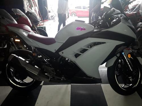 ninja 300 blanca