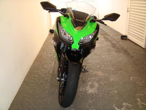 ninja 300 r - edição especial - só 6000 km - freios abs !
