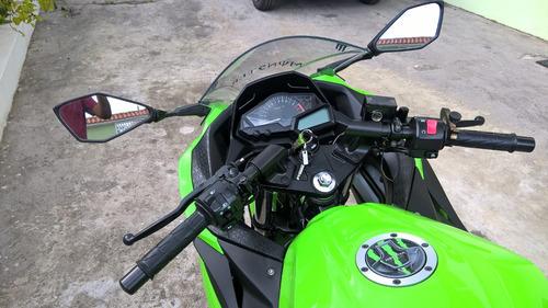 ninja 300 - unico dono - aceito carro