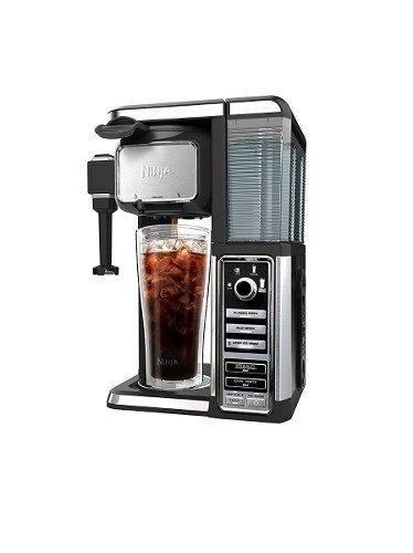 ninja cafetera expresso single-serve xl cf1112 frio-caliente