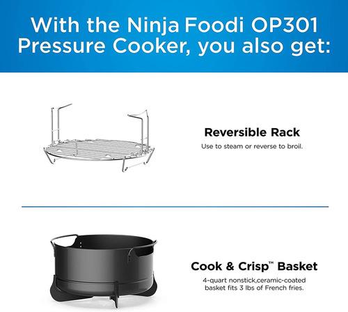 ninja fd401 foodi - olla de 8 cuartos de galon olla deluxe x