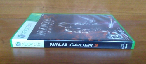 ninja gaiden 3 xbox 360 sangre por todos lados