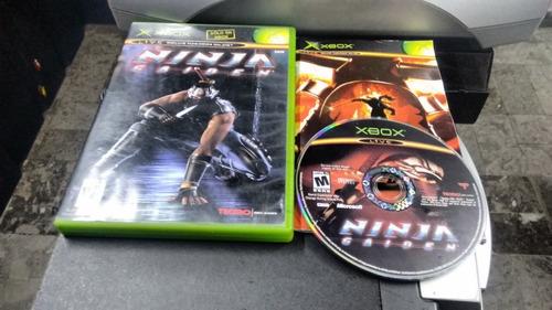 ninja gaiden completo para xbox normal,excelente titulo