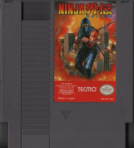 ninja gaiden original americano nes 72 pinos