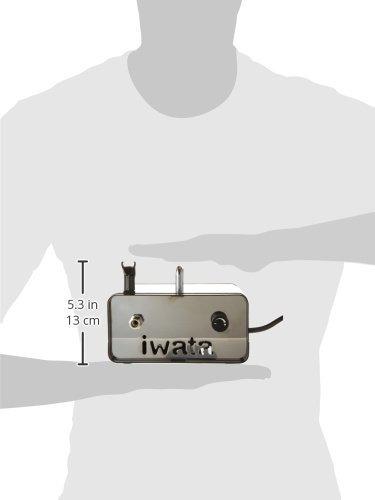 ninja jet único pistón compresor de aire iwata-medea stud