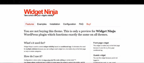 ninja popup  v.3.6.2 + bônus ninja widget v. 1.2 + brinde