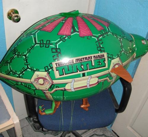ninja turtles high flying blimp zeppelin tmnt