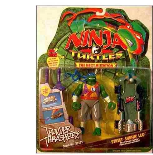 ninja turtles thunder thrashers street surfin leo playmates