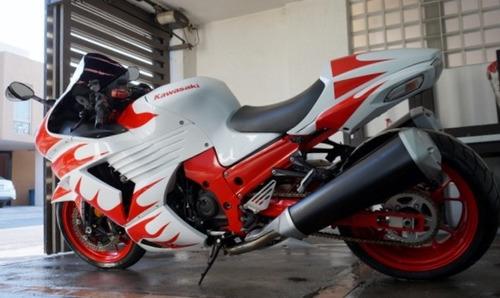 ninja zx14-r super bike modelo 2008 importada !!!!
