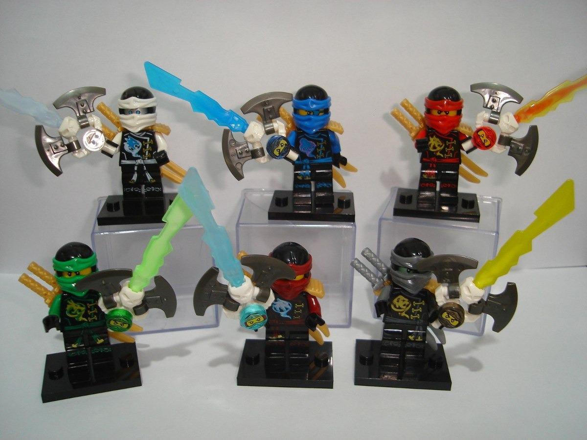 Ninjago Airjitzu Skybound 6 Ninjas Do Desenho Animado Blocos R
