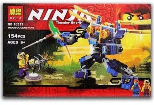 ninjago ataque lego alterno samurai robot emboscada guerra