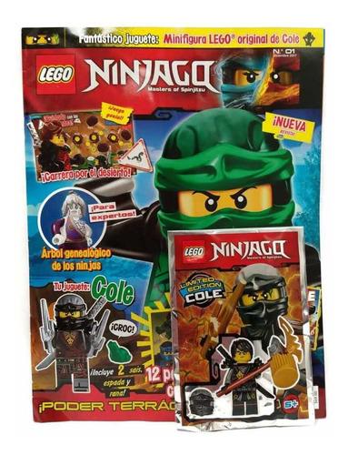 ninjago movie lego tomo 1 revista panini original español