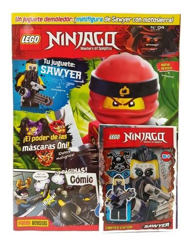 ninjago movie lego tomo 4 revista panini original en español