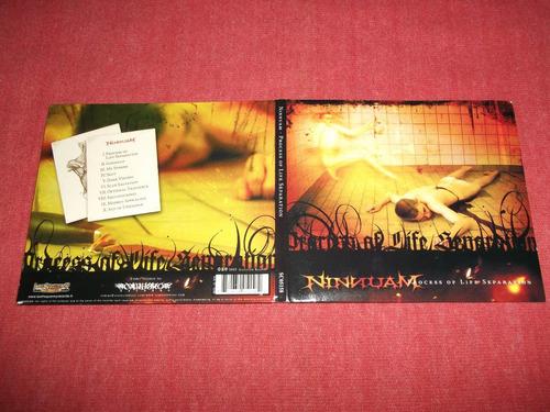 ninnuam - process of life separation cd nac ed 2005 mdisk
