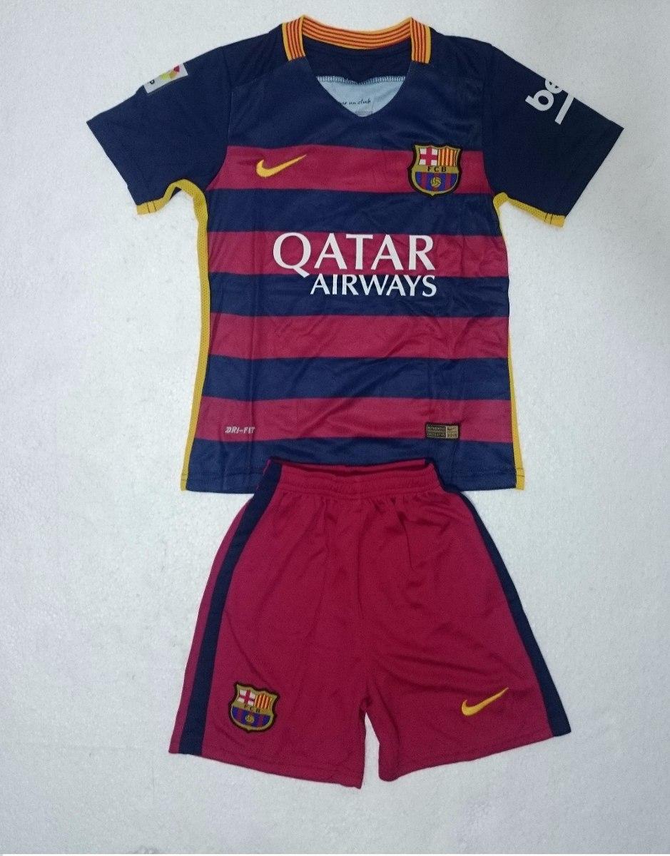 713e7afb7c1a7 Uniforme Camiseta Barcelona Niño 2015   2016 Original -   95.000 en ...