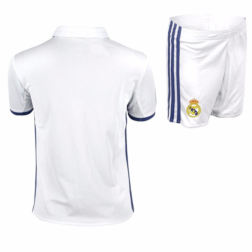 Uniforme Oficial Real Madrid Niño 2016 2017 -   125.000 en Mercado Libre e7d120bdb41f1
