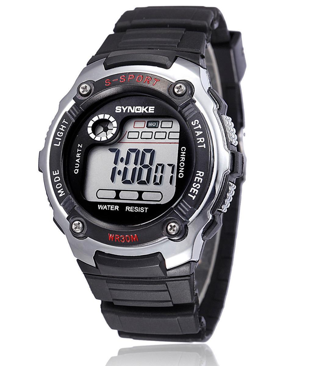 c60c6bfbdbda Niño Deportivo Relojes Electrónicos... (silver) -   41.990 en ...